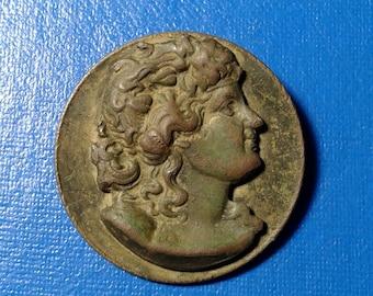Ancient bronze buttons.