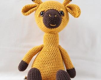 """Crochet Giraffe """"Fafa"""""""