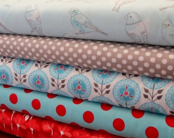 Riley Blake Desert Bloom Fabric Bundle +