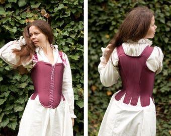 Ready made Renaissance Elizabeth Bodies Corset Reproduction