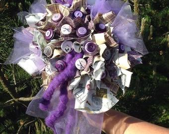 """Bridal bouquet """"Souvenir of Paris"""""""