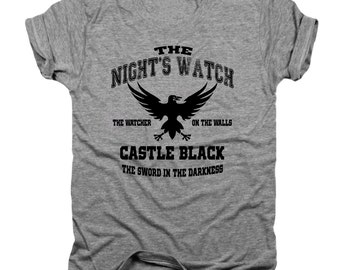 The Nights Watch, Game of Thrones shirt, GOT, white walkers, game of thrones gift, the wall, nights watch, jon snow, winter is coming, T111