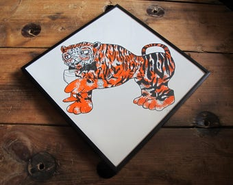 Joel Millerchip: The tiger who came for G&T not by Judith Kerr Unframed Screenprint