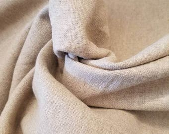 """100% Hemp woven natural taupe 10oz eco friendly 60""""wide"""