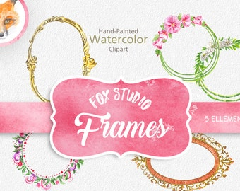 Digital Frame Clipart  Scrapbook VECTOR Frames Images Craft Card Making Page Decoration Popular