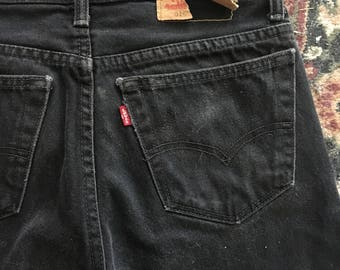Distressed vintage Levis size 30