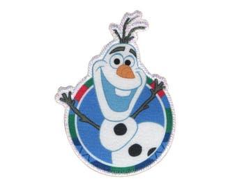 Olaf Iron On Applique, Genuine Disney Iron On Patch, Olaf Patch, Frozen Patch, Olaf Applique, Disney Applique, Frozen Applique, Kids Patch