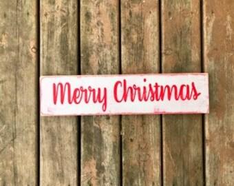 Merry Christmas Sign, Christmas Decoration, Christmas Sign, Rustic Chrismtas Decor, Rustic Christmas Sign, Rustic Christmas Decoration
