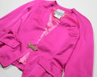 YVES SAINT LAURENT - acetate jacket