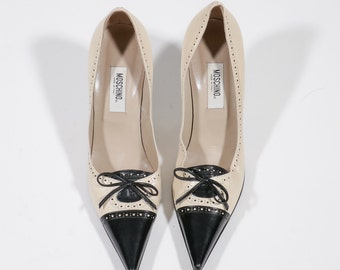 MOSCHINO - Leather shoes