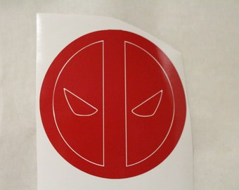 Deadpool Marvel Decal Any Size Any Colors