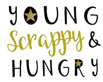 Young Scrappy and Hungry - Toddler Tee - Hamilton Shirt