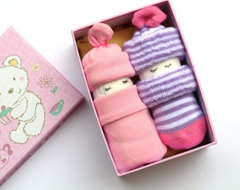 Nappy baby in a box, diaper baby, baby shower, gift