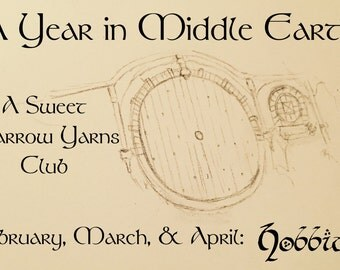 A Year In Middle Earth Club- Hobbits in February, March, and April