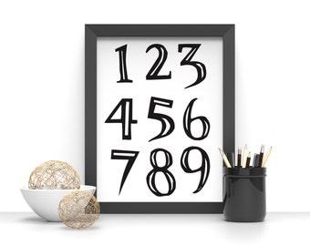 impression ours polaire affiche noir et blanc par karitasdesign. Black Bedroom Furniture Sets. Home Design Ideas