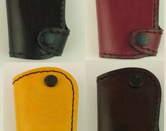 Hand made genuine leather key chain fob FIT /M BMW F25 F30 F12 F01 F02 F04 F10 F11 F12 F80 F82