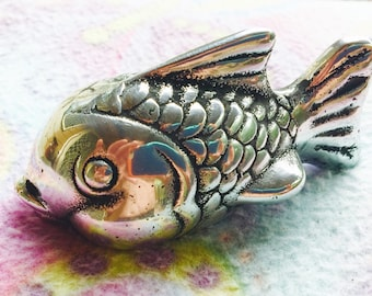 Shining Fish , Desk Ornament / Paper Weight