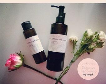 Castile Soap Organic Natural non toxic baby safe DIY shampoo facial cleaner hand soap body wash