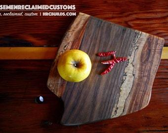 Serving board-Walnut/Spalted pecan