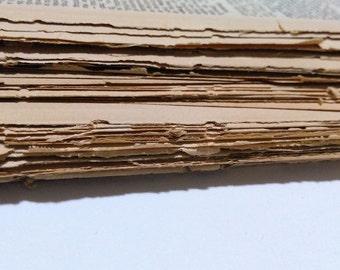 100 Antique Dictionary Pages / Antique Dictionary / Antique Craft Paper / Steampunk Craft Paper / Steampunk Craft / Paper Ephemera / Paper