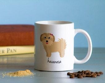 Havanese Mug (girl)