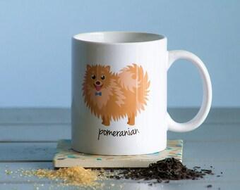 Pomeranian Mug (boy)