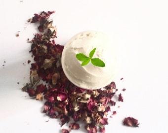 MINT ROSE LOTION | Organic Body Lotion | Rose Mint Body Butter | Vegan Lotion | Vegan Body Butter | Natural Body Butter | Moisturizer