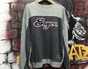 Enyce Sweatshirt Spell Out Logo Rap Hip Hop