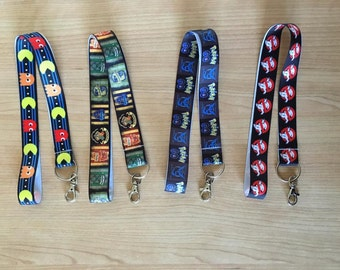 Handmade Lanyards, Homemade, Unique, ID Badge Holder, Keychain, Lobster Clasp, Key Ring, Neck Strap, Unisex, Geeky, Super Hero, Gift.