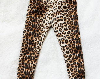 Cheetah Animal Print leggings