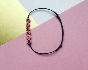 Zodiac Signs Bracelets // Sternzeichen Armbänder