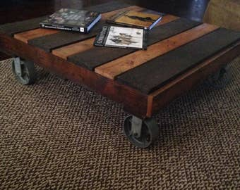 Utility Cart Coffee Table