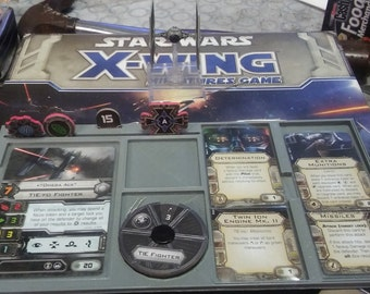X-Wing Miniatures Game Gear:  Tournament Ship Dashboard  Set of 2
