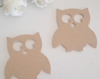 Pack 2 owls.