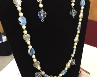 Beachy Chic Necklace Earring Set