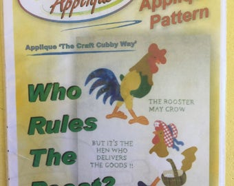 Who Rules The Roost - Creative Appliqué