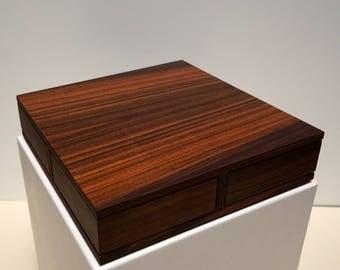 Wooden box - secret wooden box