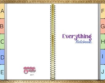 Everything Notebook (digital, paperless)