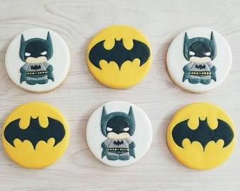 Batman Sugar Cookies
