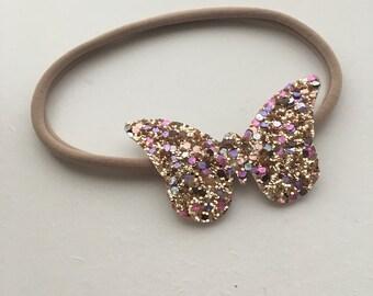 Butterfly Nylon Headband