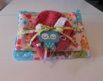 Baby Receiving Blanket Gift Set