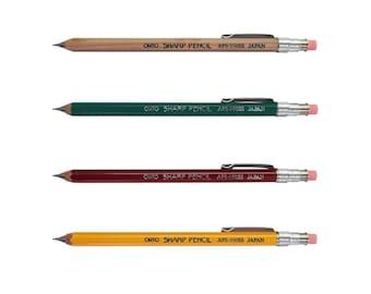 Wooden Mini Mechanical Pencil, Cute Mechanical Pencil, Small Mechanical Pencil