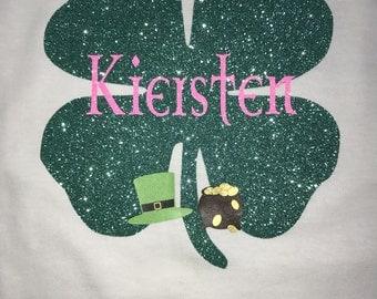St Patrick's theme shirt