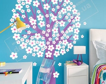 Arbre Sticker, Mur Arbre Decal, Tree Decal, Tree Wall Decals, Tree Wall Sticker, Tree Sticker, Arbre etiquette dans la chambre des enfants