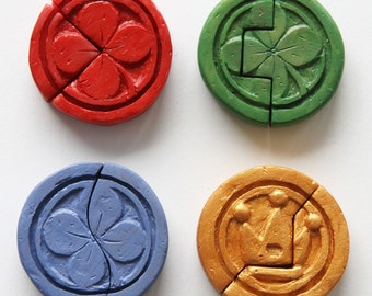Kinstones from Zelda Minish Cap (made to order)