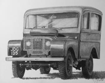 Land Rover Tickford print
