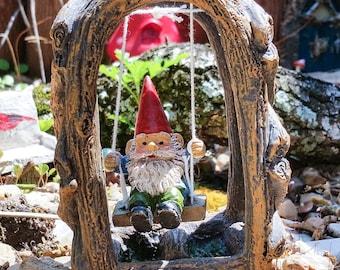 Fairy Garden Gnome, Fairy Garden Accessory, Gnomes, Garden Gnome, Gnome Figurines, Gnome Decorations, Gnome Statues, Garden Gnome Statue