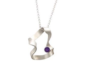 Vintage Wave Amethyst necklace