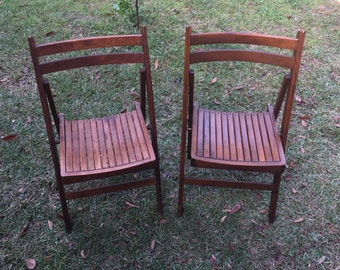Wood Folding chairs