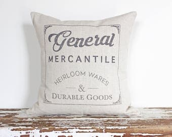 General Mercantile (Pillow Cover Only)
